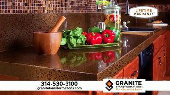 Granite Transformations TV Spot, 'Dream Kitchen in One Day'