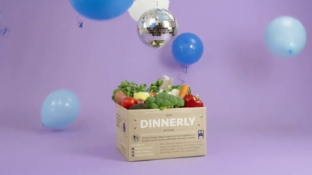 Dinnerly TV Commercial, 'Delicious Dishes: Three Free Meals'