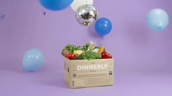 Dinnerly TV Spot, 'Delicious Dishes: Three Free Meals'