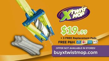 X-Twist Mop TV Spot, 'Refresh Your Home' - Thumbnail 6