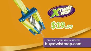 X-Twist Mop TV Spot, 'Refresh Your Home' - Thumbnail 5