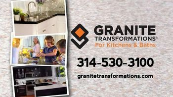 Granite Transformations TV Spot, 'Bring Your Kitchen Into This Decade' - Thumbnail 1