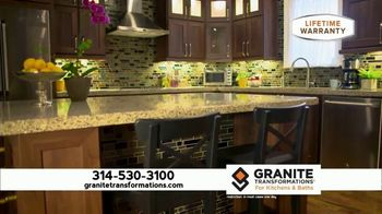 Granite Transformations TV Spot, 'Bring Your Kitchen Into This Decade' - Thumbnail 2