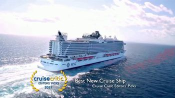 MSC Cruises Super Upgrade Sale TV Spot, 'Not Just Any Cruise' - Thumbnail 1