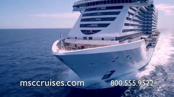 MSC Cruises Super Upgrade Sale TV Spot, 'Not Just Any Cruise' - Thumbnail 10