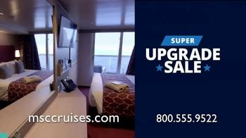 MSC Cruises Super Upgrade Sale TV Spot, 'Not Just Any Cruise' - Thumbnail 8