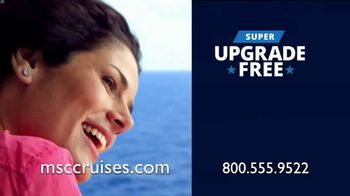 MSC Cruises Super Upgrade Sale TV Spot, 'Not Just Any Cruise' - Thumbnail 9