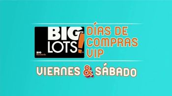 Big Lots Evento Amigos & Familia TV Spot, 'Vive en grande' [Spanish] - Thumbnail 4