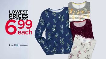 Kohl's Lowest Prices of the Season TV Spot, 'Women's Tops, Shoes and Pillows' - Thumbnail 2