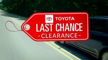 Toyota Last Chance Clearance TV Spot, 'Correction: 4Runner and Highlander' [T2] - Thumbnail 2