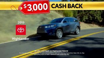 Toyota Last Chance Clearance TV Spot, 'Correction: 4Runner and Highlander' [T2] - Thumbnail 4