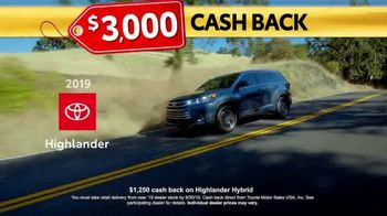 Toyota Last Chance Clearance TV Spot, 'Correction: 4Runner and Highlander' [T2] - Thumbnail 5