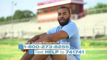 National Suicide Prevention Lifeline TV Spot, 'Jake Lawler'