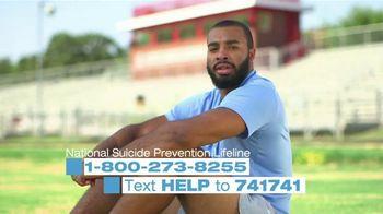 National Suicide Prevention Lifeline TV Spot, 'Jake Lawler' - Thumbnail 5