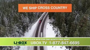 U-Haul U-Box TV Spot, 'No More Hassle: One Month Free'