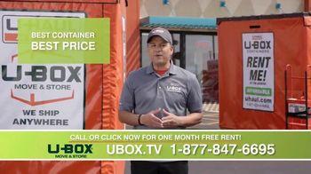 U-Haul U-Box TV Spot, 'No More Hassle: One Month Free' - Thumbnail 6