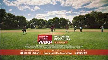 Consumer Cellular TV Spot, 'Baseball' - Thumbnail 6