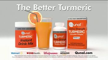 Qunol Extra Strength Turmeric and Turmeric Instant Drink Mix TV Spot, 'Joint Inflammation' - Thumbnail 4