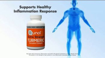 Qunol Extra Strength Turmeric and Turmeric Instant Drink Mix TV Spot, 'Joint Inflammation' - Thumbnail 2