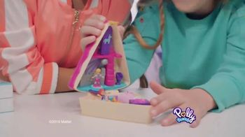 Polly Pocket Birthday Cake Bash Compact TV Spot, 'Hidden Surprise Inside'