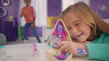 Polly Pocket Birthday Cake Bash Compact TV Spot, 'Hidden Surprise Inside' - Thumbnail 6