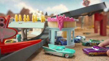 Disney Pixar Cars Radiator Springs Track Set TV Spot, 'Wins the Race'