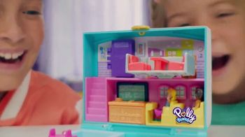 Polly Pocket Mini Middle School Compact TV Spot, 'Disney Junior: School Book'