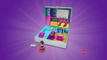 Polly Pocket Mini Middle School Compact TV Spot, 'Disney Junior: School Book' - Thumbnail 5