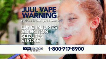 Cory Watson Law TV Spot, 'Juul E-Cigarette Warning' - Thumbnail 4