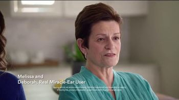 Miracle-Ear Anniversary Sale TV Spot, 'Listen & Learn: Melissa & Deborah' - Thumbnail 3