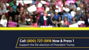 Great America PAC TV Spot, '2020 Re-Election Support'