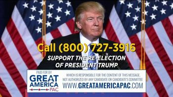 Great America PAC TV Spot, '2020 Re-Election Support' - Thumbnail 10