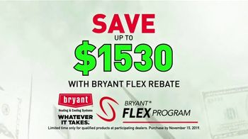 Bryant Heating & Cooling TV Spot, 'Whatever It Takes: Warm This Winter' - Thumbnail 5