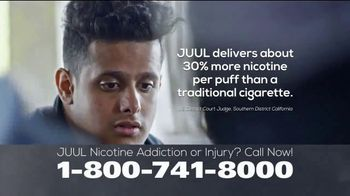 Parker Waichman TV Spot, 'JUUL Nicotine Addiction'