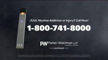 Parker Waichman TV Spot, 'JUUL Nicotine Addiction' - Thumbnail 4