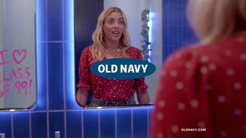 Old Navy High-Rise Slim Straight Jeans TV Spot, 'Reunion: 30 or 40%' Featuring Busy Philipps - 569 commercial airings