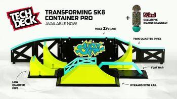 Tech Deck Transforming Sk8 Container Pro TV Spot, 'Open Me' - Thumbnail 8