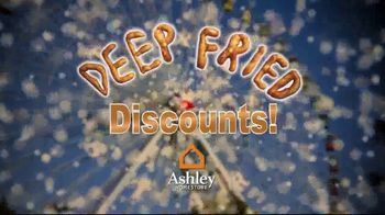 Ashley HomeStore Deep Fried Discounts TV Spot, 'Save Up to 23 Percent' - Thumbnail 1