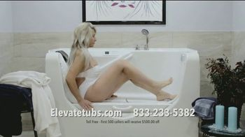 Elevate Bathtubs TV Spot, 'Think Again'