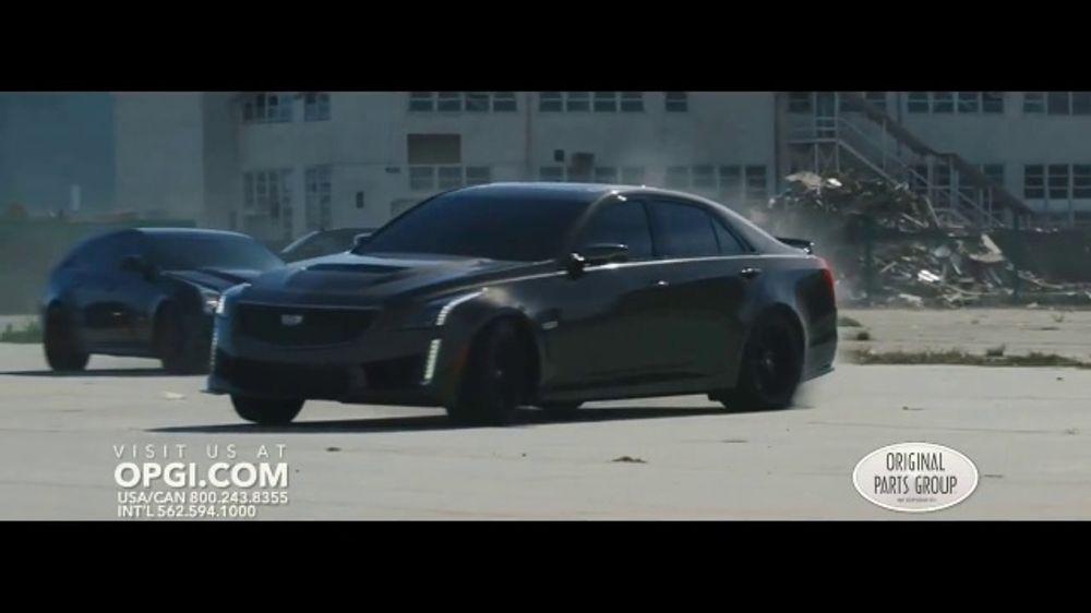 OPGI Original Parts Group Inc TV Commercial, 'Modern Performance Cadillac'