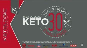 KetoLogic TV Spot, 'Keto 30 Challenge: My Pants Were Looser' - Thumbnail 1