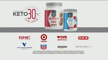 KetoLogic TV Spot, 'Keto 30 Challenge: My Pants Were Looser' - Thumbnail 10