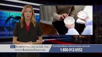 Robinson Calcagnie Robinson Shapiro Davis, Inc. TV Spot, 'Textured Breast Implants' - Thumbnail 1