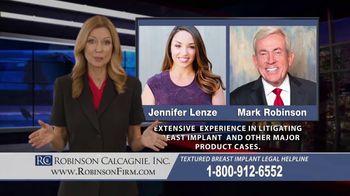 Robinson Calcagnie Robinson Shapiro Davis, Inc. TV Spot, 'Textured Breast Implants' - Thumbnail 10