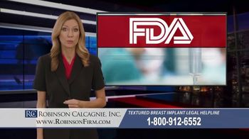 Robinson Calcagnie Robinson Shapiro Davis, Inc. TV Spot, 'Textured Breast Implants' - Thumbnail 5