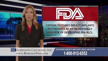 Robinson Calcagnie Robinson Shapiro Davis, Inc. TV Spot, 'Textured Breast Implants' - Thumbnail 6