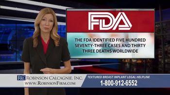 Robinson Calcagnie Robinson Shapiro Davis, Inc. TV Spot, 'Textured Breast Implants' - Thumbnail 7