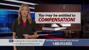 Robinson Calcagnie Robinson Shapiro Davis, Inc. TV Spot, 'Textured Breast Implants' - Thumbnail 9