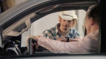 Nationwide Insurance TV Spot, 'Jingle Sessions: Band Shopping List' Featuring Peyton Manning, Brad Paisley - 3450 commercial airings