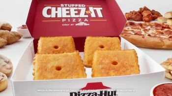 Pizza Hut Stuffed Cheez-It Pizza TV Spot, 'You're Welcome'
